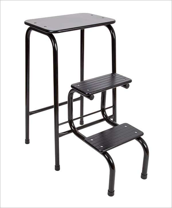 Giggy & Bab Blackheath stool in black