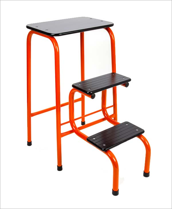 Giggy & Bab Blackheath stool in orange