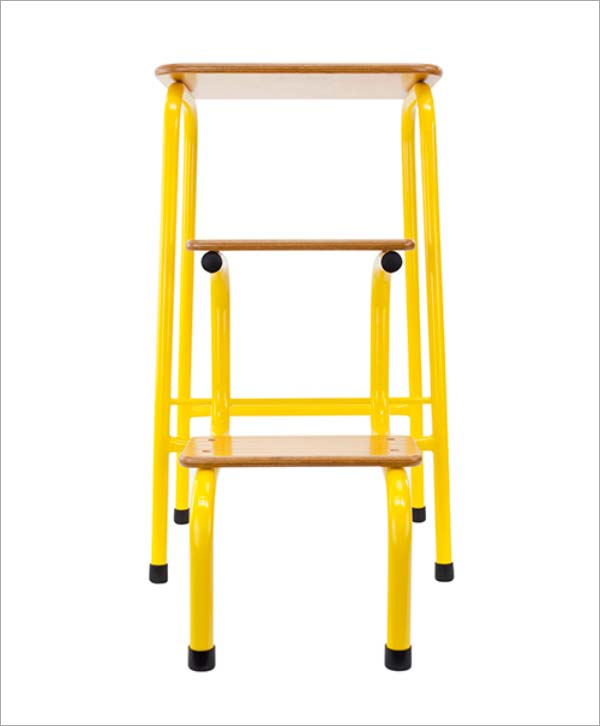 Giggy & Bab Hornsey stool in yellow