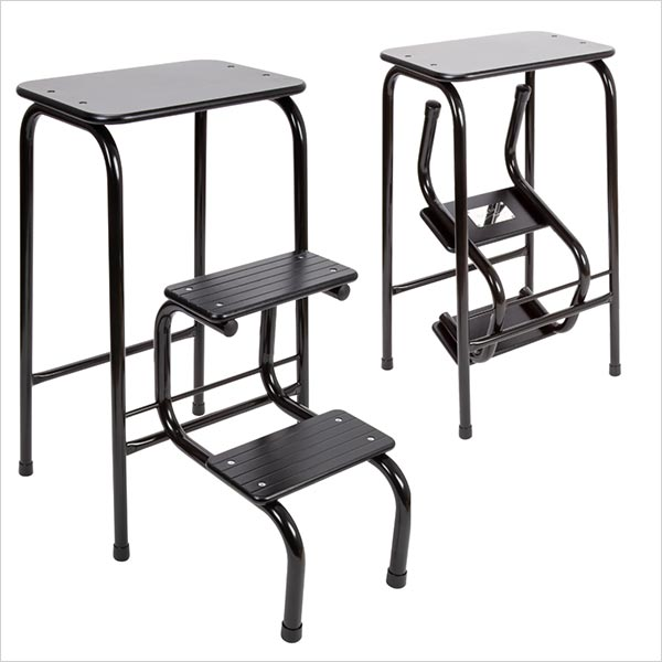 Blackheath stool in black