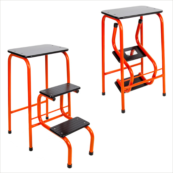 Blackheath stool in orange