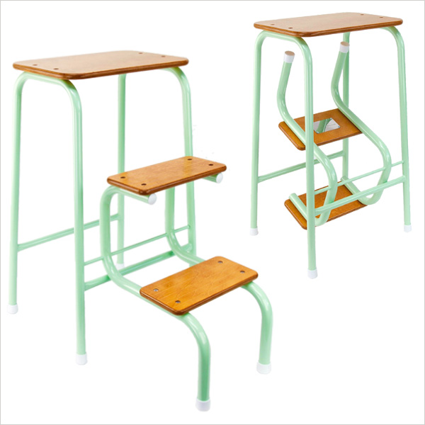Hornsey stool in mint green
